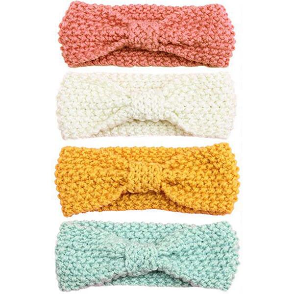 Wool Knitted Baby Girl Headband