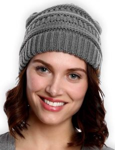 Cable Knit Chunky Beanie