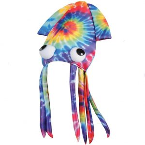 Multicolor Squid Hat