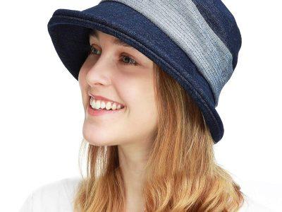 Women's Wide Brim Sun Bucket Hat