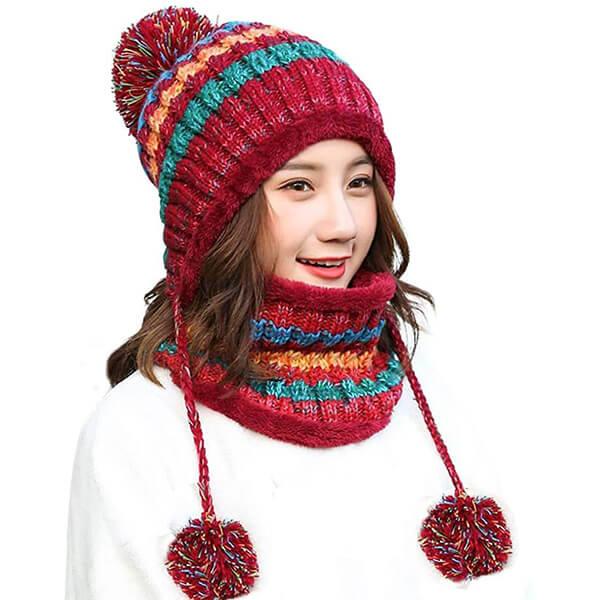 Peruvian Ear Flap Hat For Women