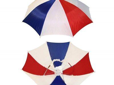 Three colors, four-pack umbrella hat