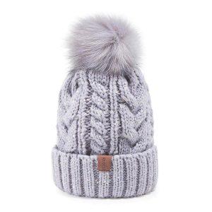Women's Winter Pompom Beanie Hat