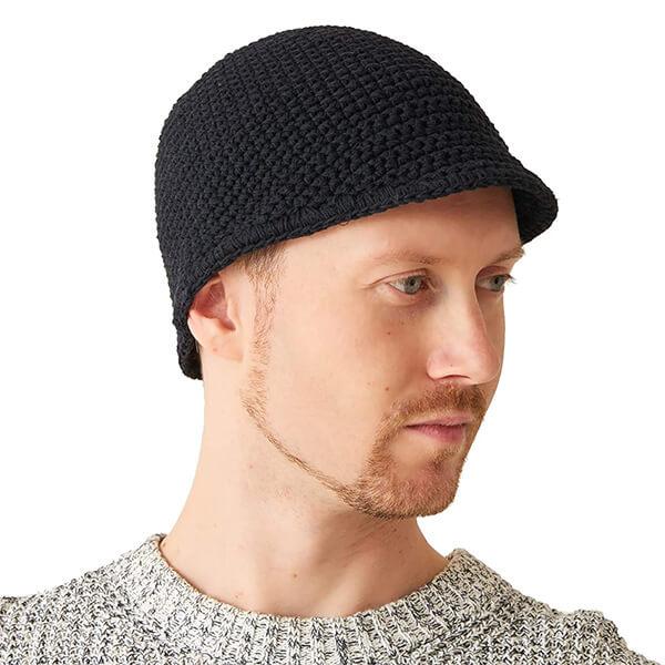 Crochet Cotton Beanie