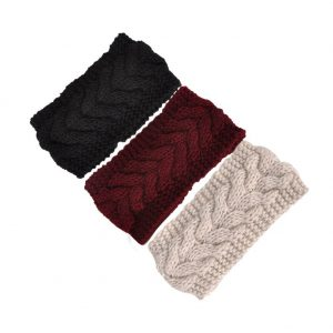 Ear Warmer wool knit headband