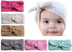 Rabbit Ear Knitted Headband