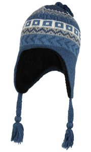 Mens and Womens Winter Hat with Ear Flaps