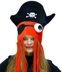 Pirate Squid Hats