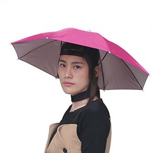 Sunshade folding umbrella hat