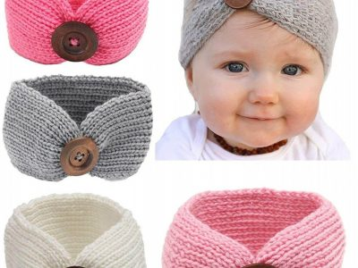 Turban Knitted Headband for Babies