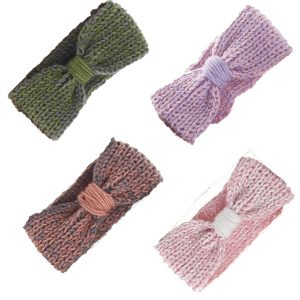 Bow-knot Knitted Crotchet Headband