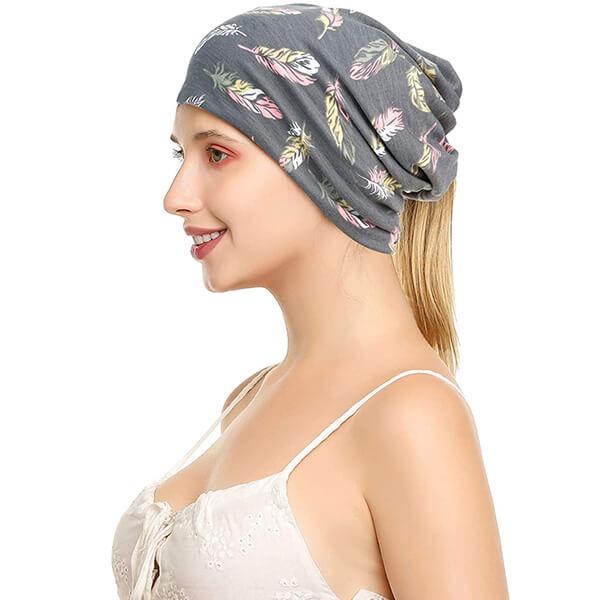 Fashion Printed Beanie Hat