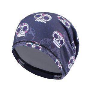Skull Printed Summer Beanie