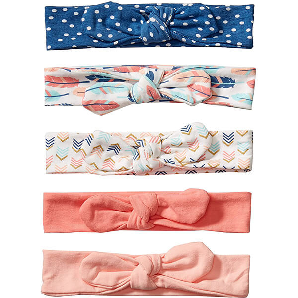 Unisex Cotton and Synthetic Headbands for Babies