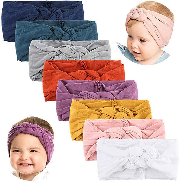 Big Hair Bow Headband for Infant Baby Girls