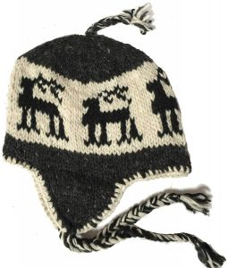 Chullo Fleece-Lined Earflap Beanie