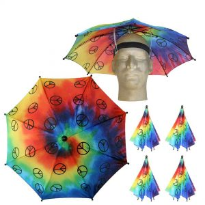 Funky patterns umbrella hats