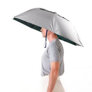 Extra-large umbrella hat