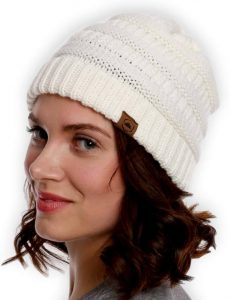 Stylish Cable Knit Beanie