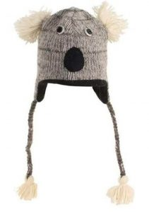 Wool Animal Hand Knitted Beanie