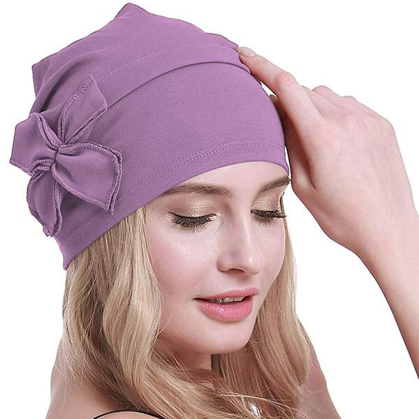 Cotton Chemo Turbans Headwear for Women