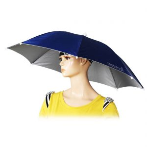 One-color umbrella hat