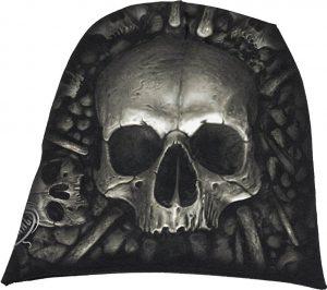 Gothic Skull Beanie Hat