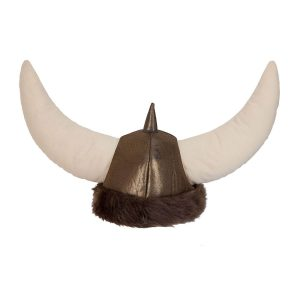 Faux Fur Viking Helmet.