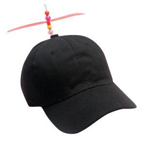1 KIDS SIZE SPINNING PROPELLER HAT new novelty baseball cap childrens BALL CAPS