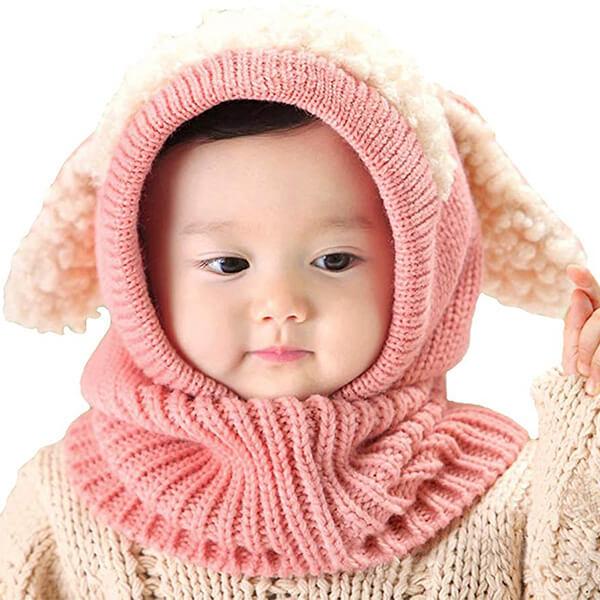 Winter Hat Scarf Earflap Hood Winter Cap