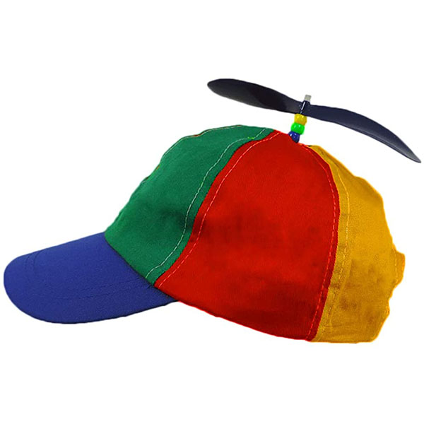 Propeller Brightly Colored Hat
