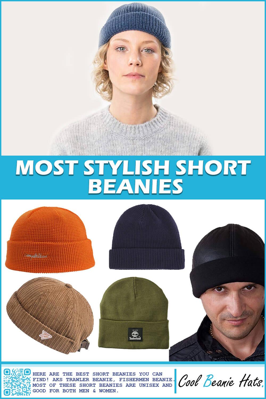 most stylish short beanies