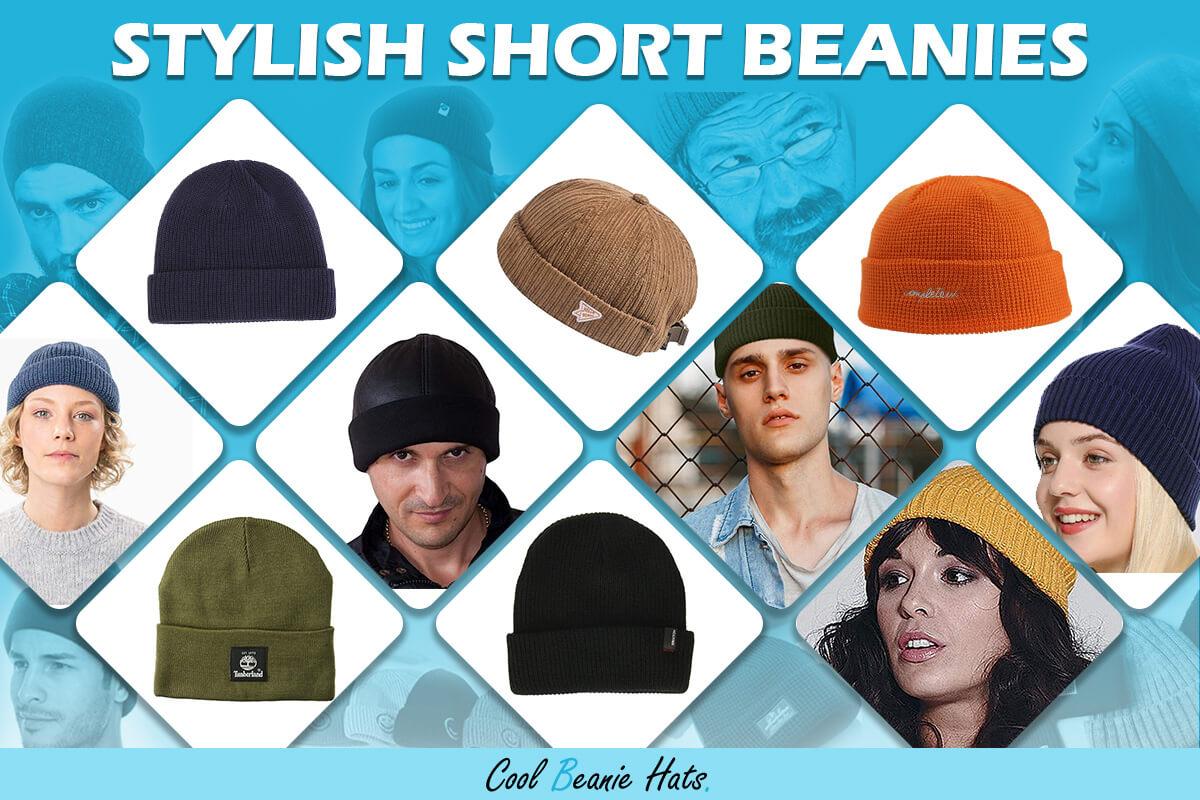 stylish short beanies