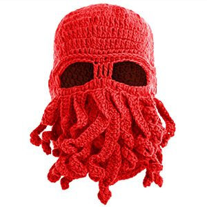 Knitted Octopus Beanie Hat