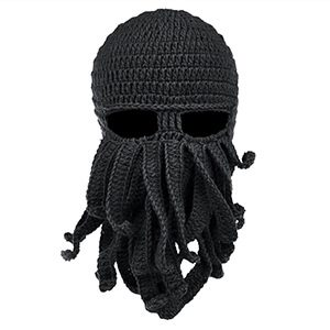 Beard Octopus Beanie Hat