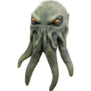 Green Octopus Monster Hat Mask