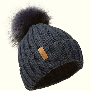 Wintertime Crocheted Beanie Hat