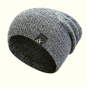 Knitted marvelous beanie