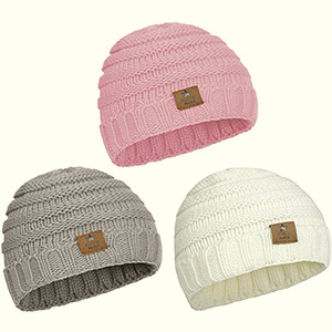 Three pack for wonderful beanie hats
