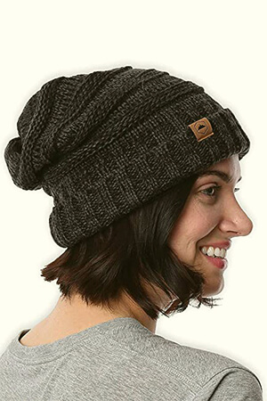 Chunky Oversized Slouched Beanie