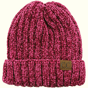 Unisex Soft, Warm Knit, and Pink Beanie