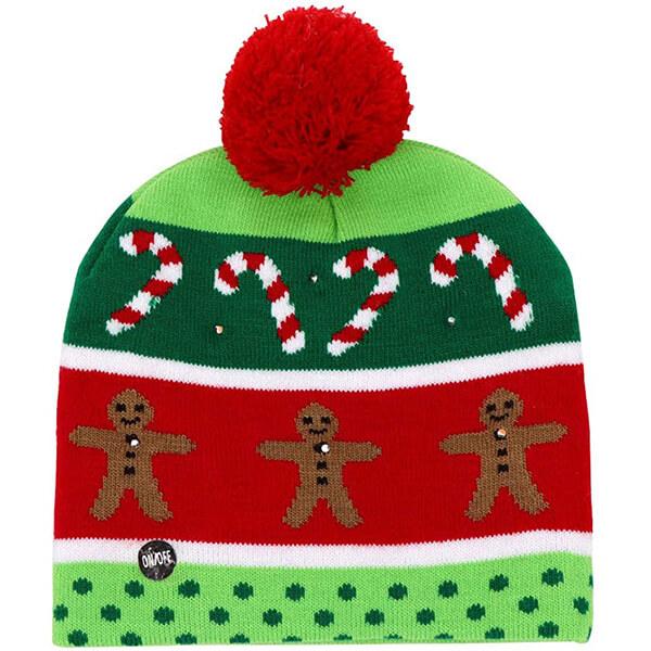 Christmas Light up Beanie Hats