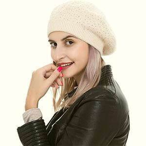 Women's Beret Hat Wool