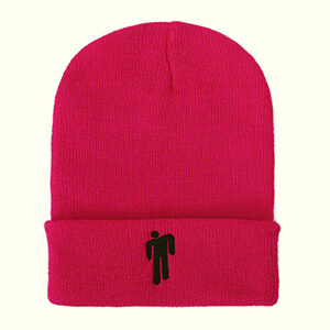 Billie Eilish Beanies Hats - Pink Color, Unisex