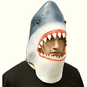 Faux Shark Mask