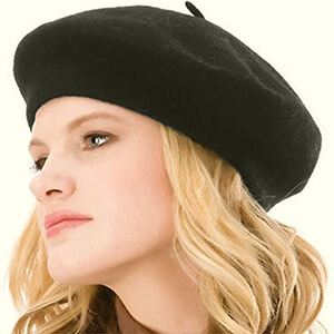 French women's beret