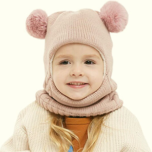 Amazing winter toddler hat