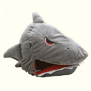 Plush Shark Animal Hat