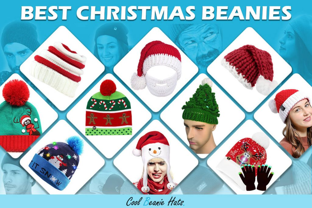 best christmas beanies and winter hats