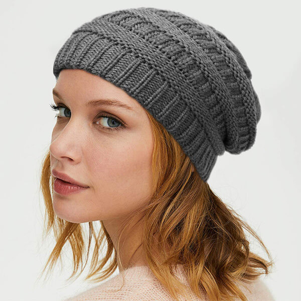 Thick Chunky Satin Lined Beanie